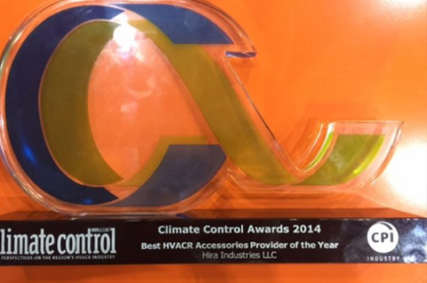 HVAC Accessories Supplier of the Year Award